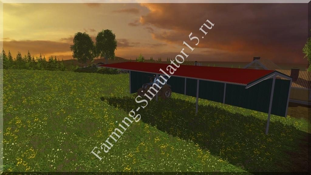 Мод Shelter v 2.2 Placeable Farming Simulator 15, 2015