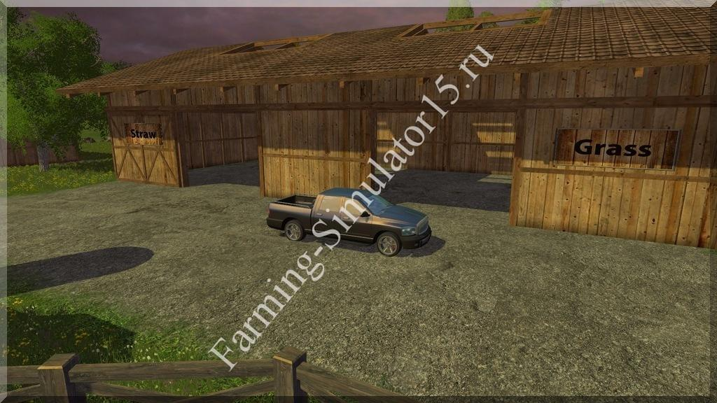 Мод Feed Storage addon Bjorn Holm v 1.0.1 Farming Simulator 15, 2015