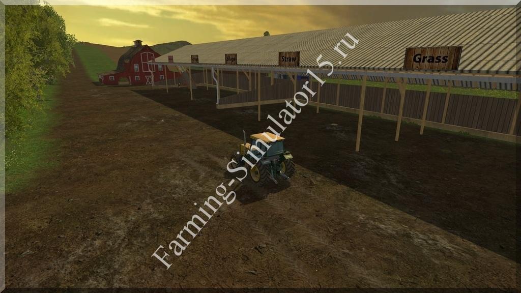 Мод Westbridge Storage addon v 1.0.1 Farming Simulator 15, 2015