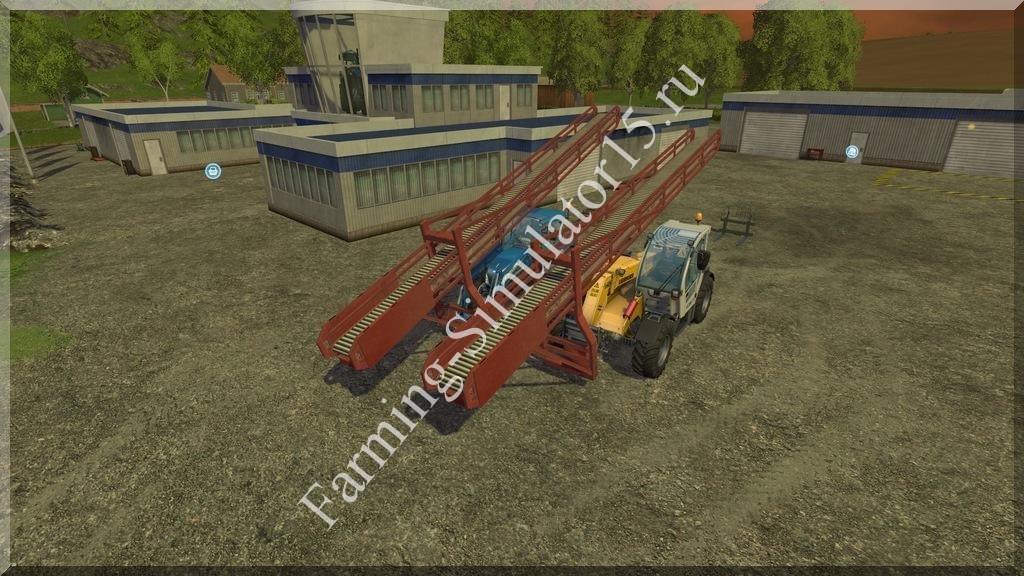 Мод погрузчика Conveyor Pack v 3.2.5 Farming Simulator 15, 2015