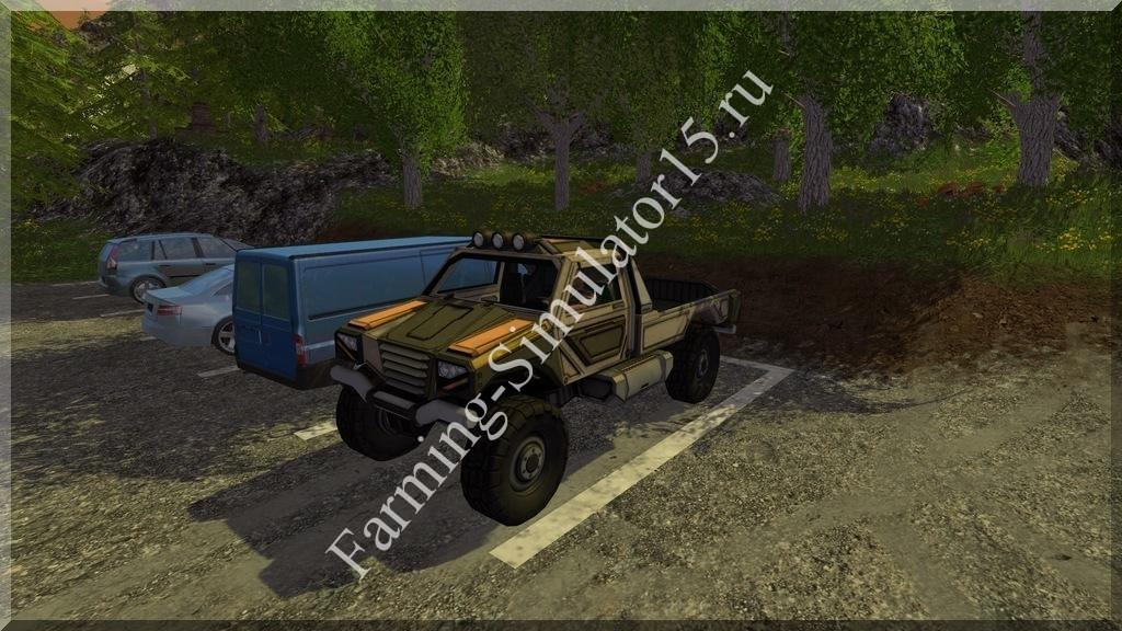 Мод легкового авто Gekko Utility Vehicle v 1.0 Farming Simulator 15, 2015