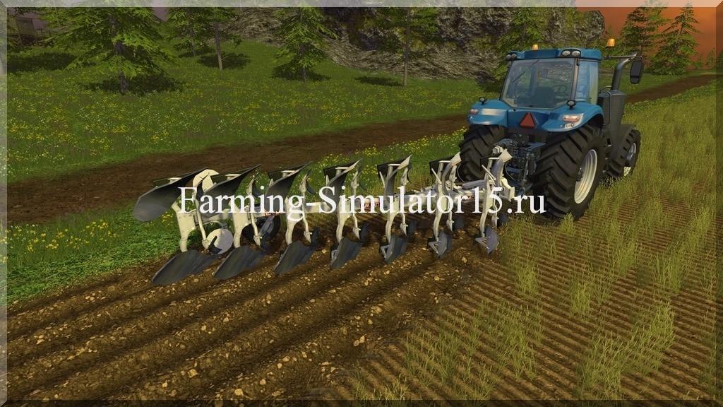 Мод плуга Ermo Epta v 1.0 Farming Simulator 15, 2015