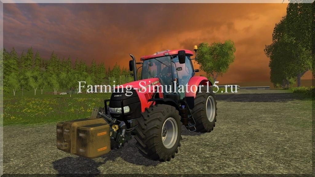 Мод трактора Case IH Puma 160 v 1.0 Farming Simulator 15, 2015