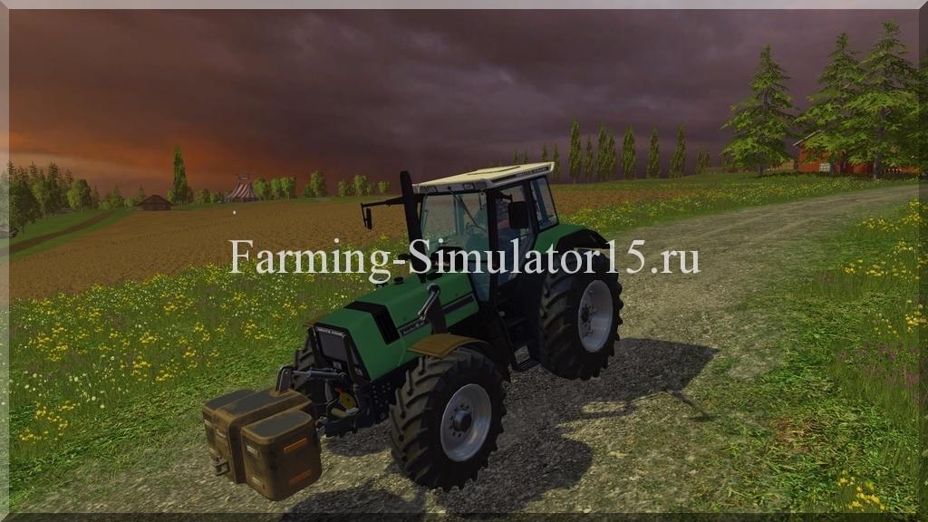 Мод трактора Deutz AgroStar 6.61 v 1.0 Farming Simulator 15, 2015