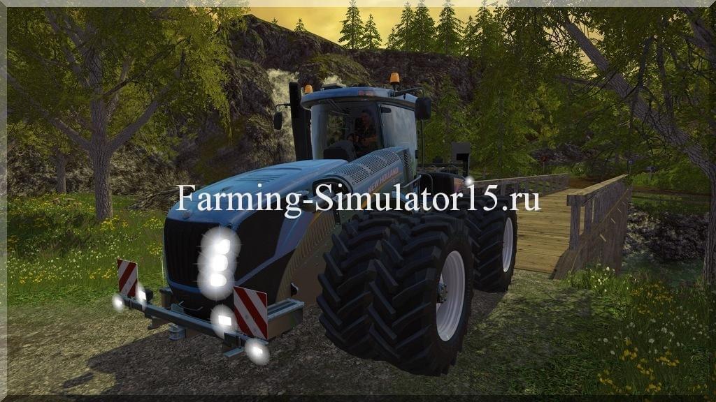 Мод трактора New Holland T9 565 DW v 1.0 Farming Simulator 15, 2015