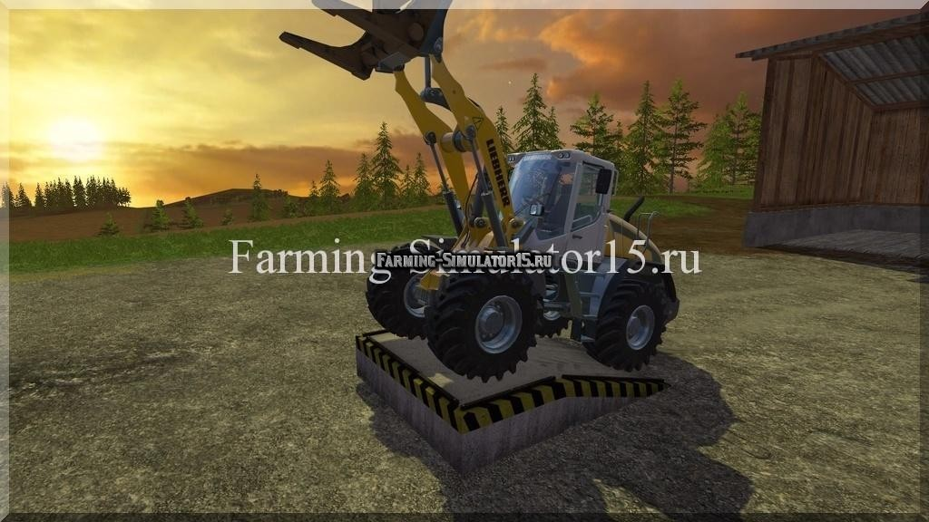 Мод рампы Loading ramp v 1.0 Placeable Farming Simulator 15, 2015