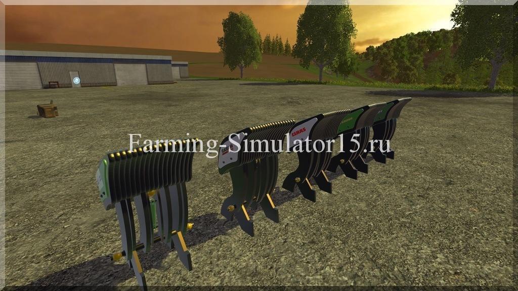 Мод противовеса Flex Weights Pack v 1.0 Farming Simulator 15, 2015