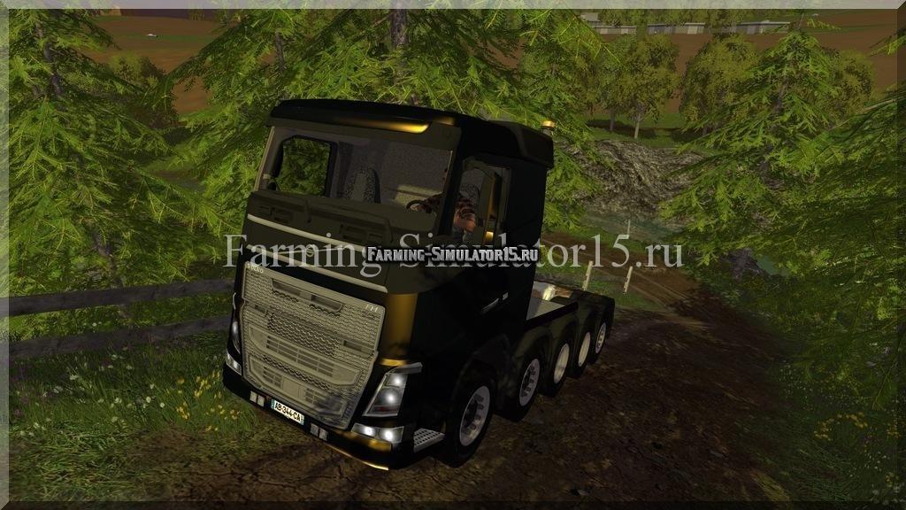 Мод грузовика Volvo Schwerlast 5 Achs V 1.0 Farming Simulator 15, 2015