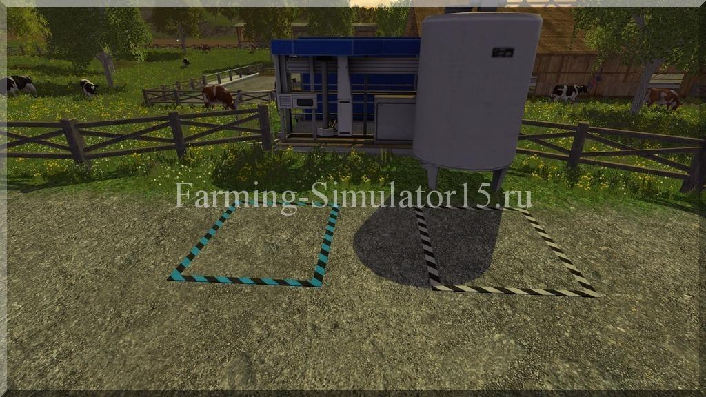 Мод milk truck trigger v 2 0 placeable farming simulator 15 2015