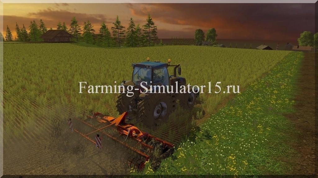 Мод культиватора Horsch Joker 6 CT v 1.0 Farming Simulator 15, 2015