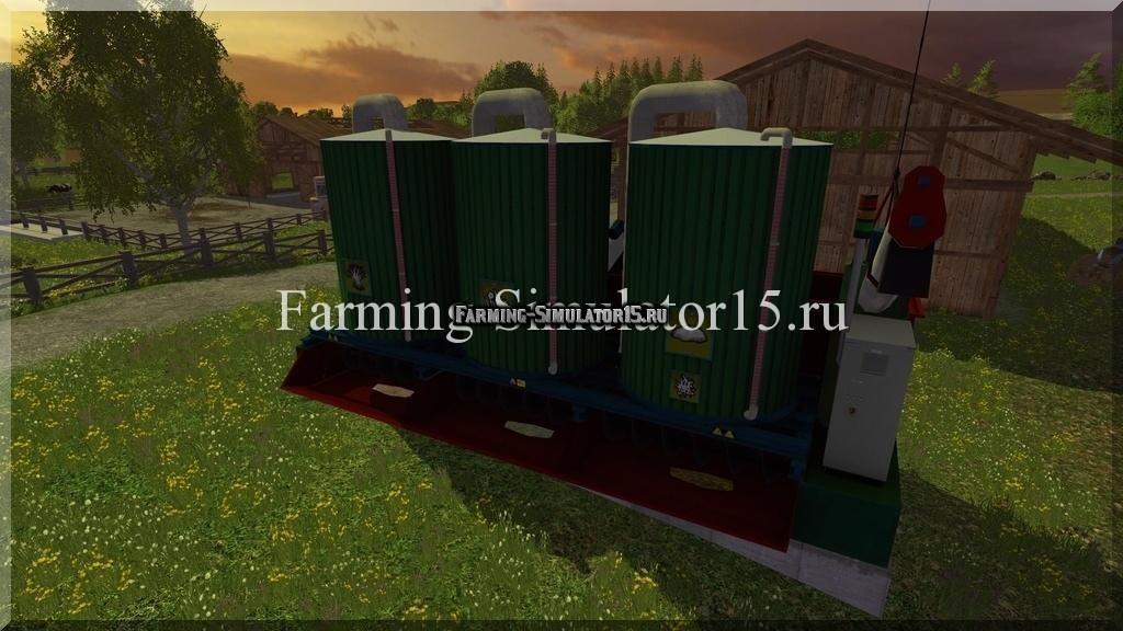 Мод миксер Mixing station v 3.3.0 Farming Simulator 15