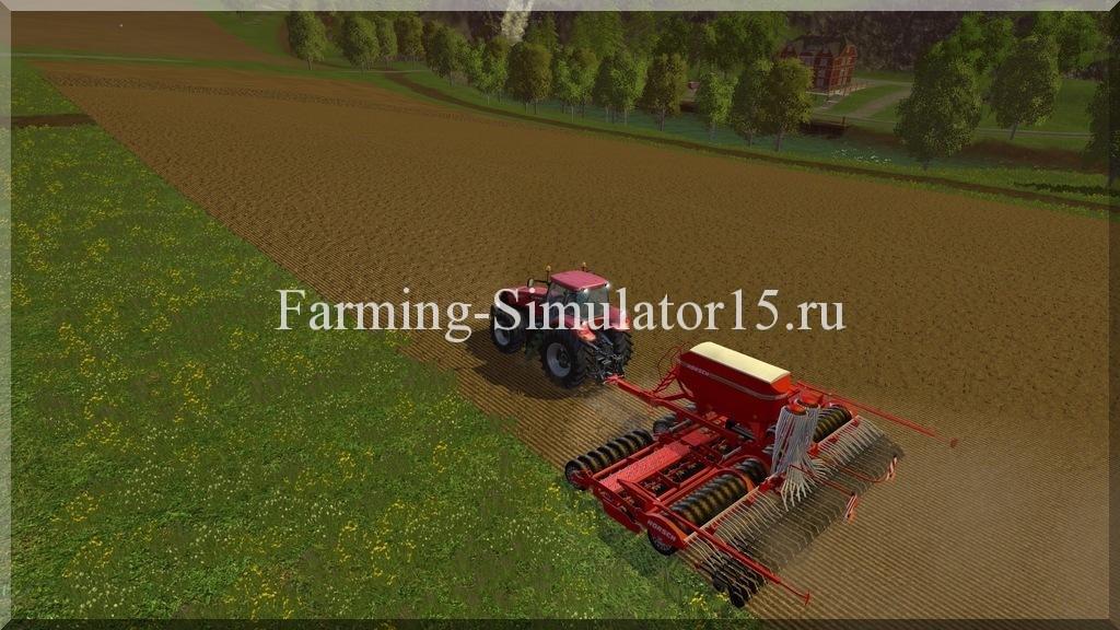 Мод сеялки Horsch Pronto 9 DC v 1.3 Farming Simulator 15, 2015