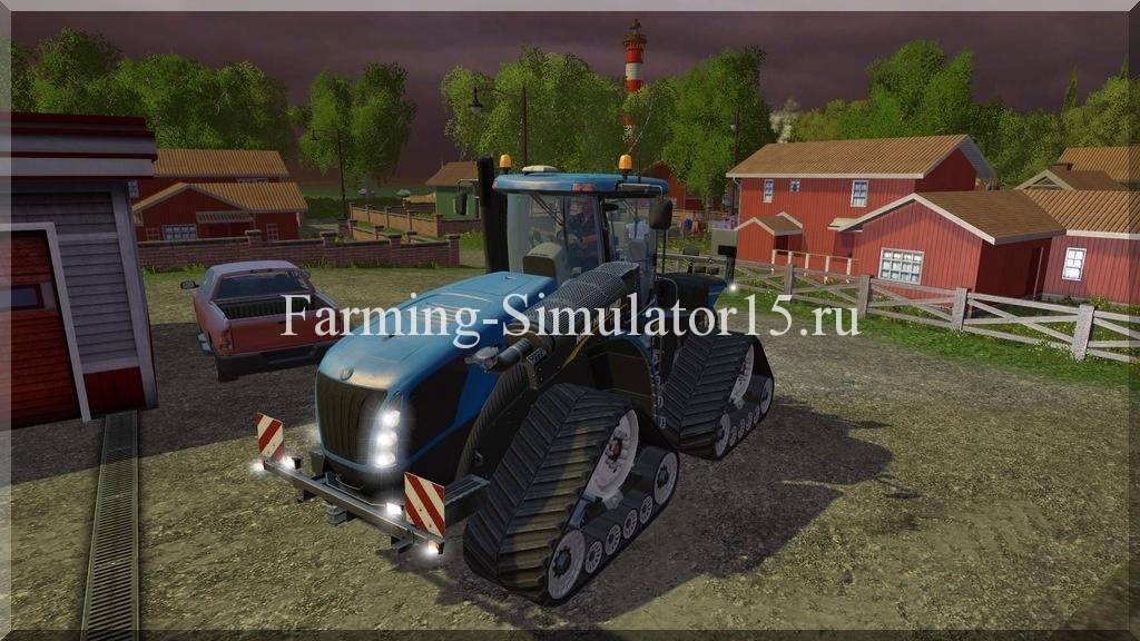 Мод трактора New Holland T9670 Smart Trax v 1.0 Farming Simulator 15, 2015