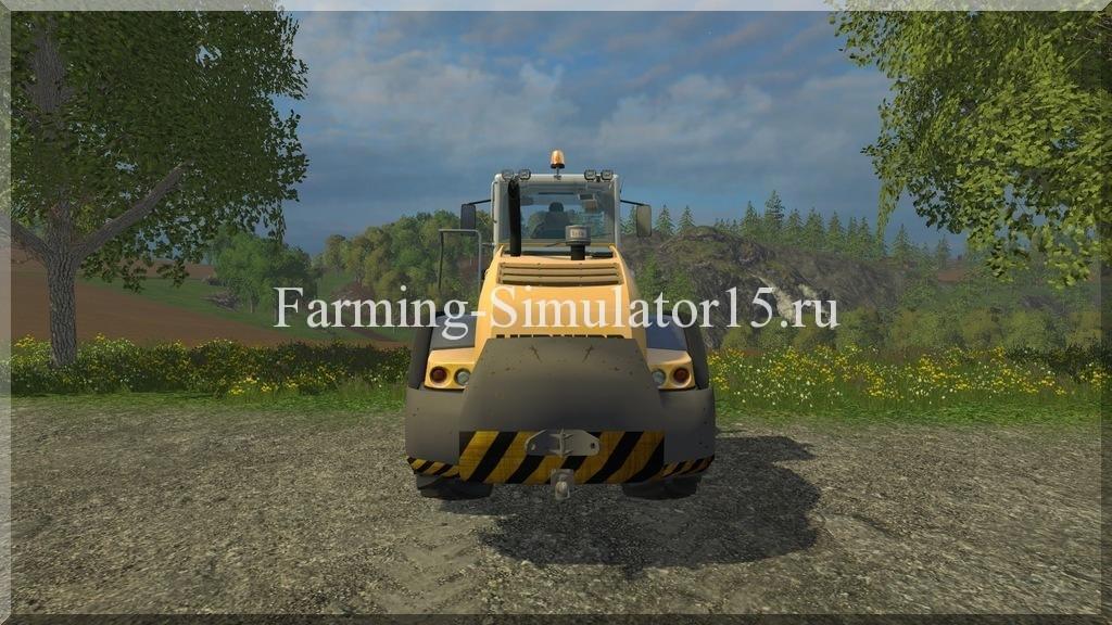 Мод противовеса Gewich Liebherr L 538 V 1.0 Farming Simulator 15, 2015