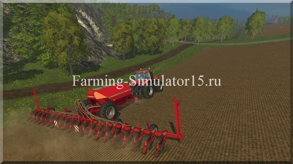 Мод сеялки Maestro12SW v 3.0 Farming Simulator 15, 2015