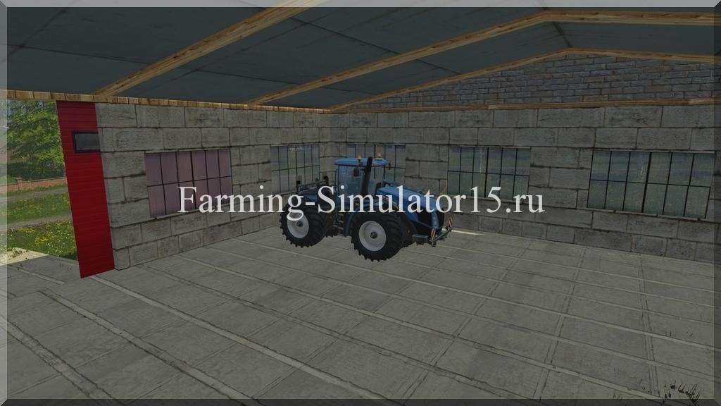 Мод гаража Garage v 1.0 Placeable Farming Simulator 15, 2015