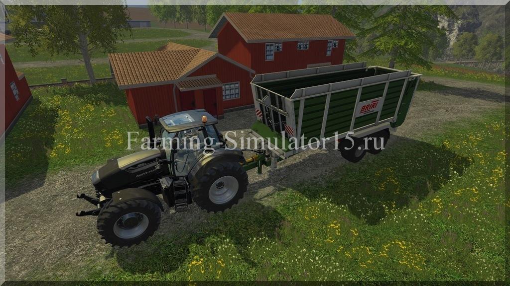 Мод прицепа Briri Silotrans 38 v 1.0 Farming Simulator 15, 2015