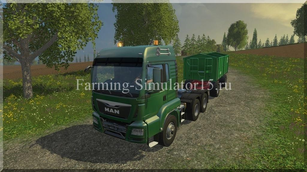 Мод грузовика MAN 6X6 v 1.0 Farming Simulator 15, 2015