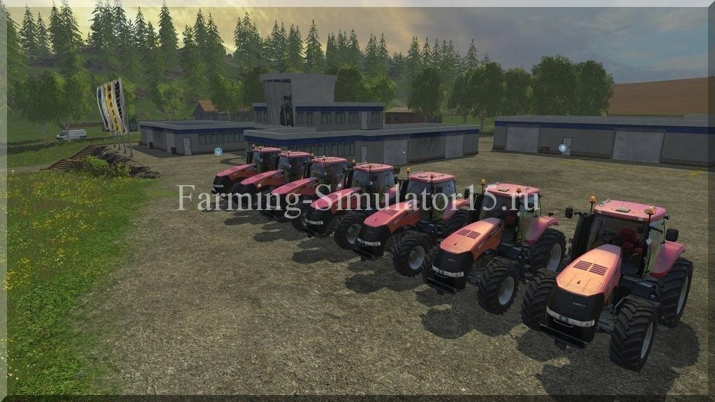 Мод трактора Case IH Magnum CVX Pack v 1.4 Farming Simulator 15, 2015