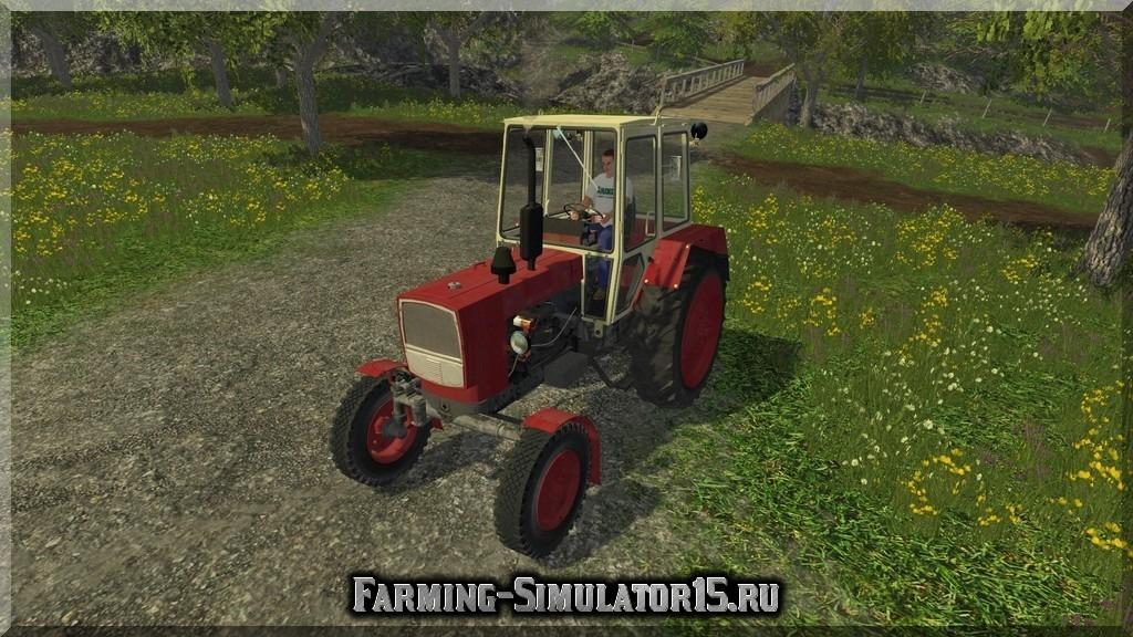 Мод трактора UMZ 6KL v 1.0 Farming Simulator 15, 2015