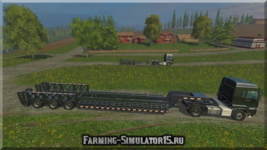 Мод трала TrailTech CT220TT & CT3200 v1.0 Farming Simulator 15, 2015