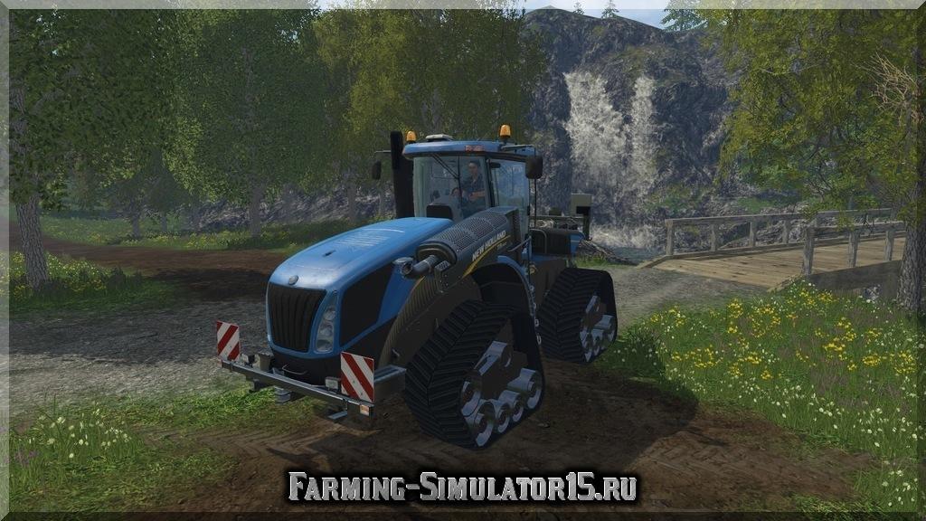 Мод трактора New Holland T9.565 ATI v 1.0 Farming Simulator 15, 2015