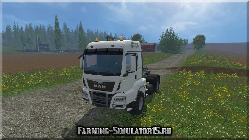 Мод грузовика MAN Agrar v 1.0 Farming Simulator 2015, 15