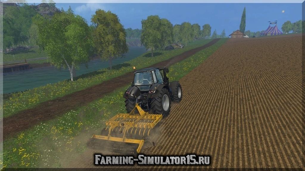 Мод культиватора Agrisem Disc O Mulch v 1.0 Farming Simulator 2015, 15