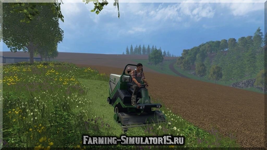 Мод газонокосилки Amazone Profi Hopper v 2.2 Farming Simulator 2015, 15