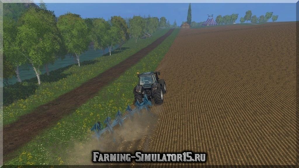 Мод плуга Lemken Juwel 8 v 0.9 Beta Farming Simulator 2015