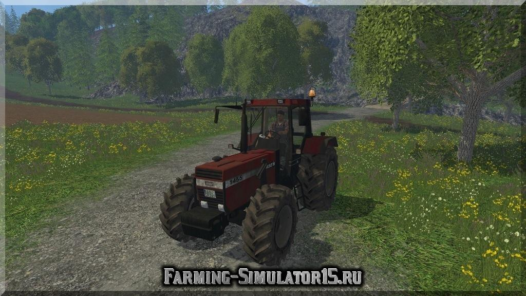 Мод трактора Case 1455 XL v 1.0 Dirt Farming Simulator 15, 2015