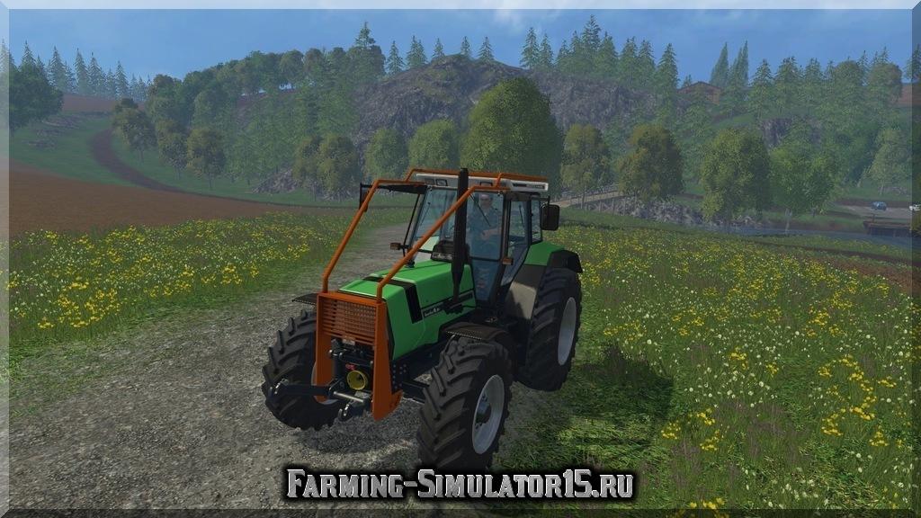 Мод трактора Deutz AgroStar 6.61 v 1.0 Forest Farming Simulator 2015, 15