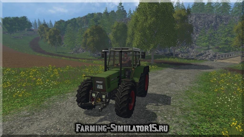 Мод трактора Fendt Favorit 615 LSA Turbomatik v 4.0 Farming Simulator 2015, 15
