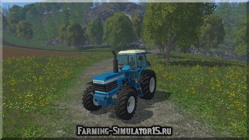 Мод трактора Ford Tw 30 v 1.0 Farming Simulator 15, 2015