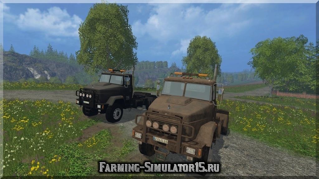 Мод грузовика KRAZ 5133 WSB v 1.0 Farming Simulator 15, 2015