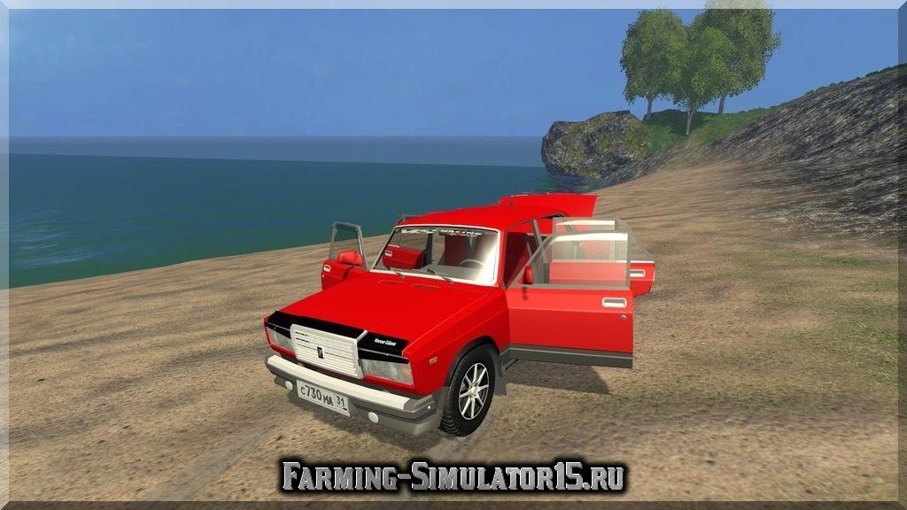 Скачать мод для farming simulator 2015 на ваз 2107