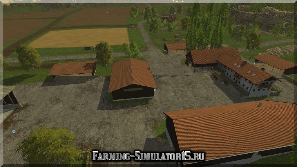 Мод карта Holmgard + Тракторный полигон v 0.2 beta Farming Simulator 2015, 15