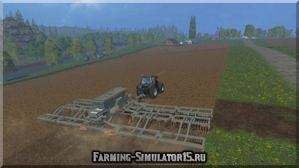 Мод культиватора Gregoire Besson XXL v 1.0 Farming Simulator 15, 2015