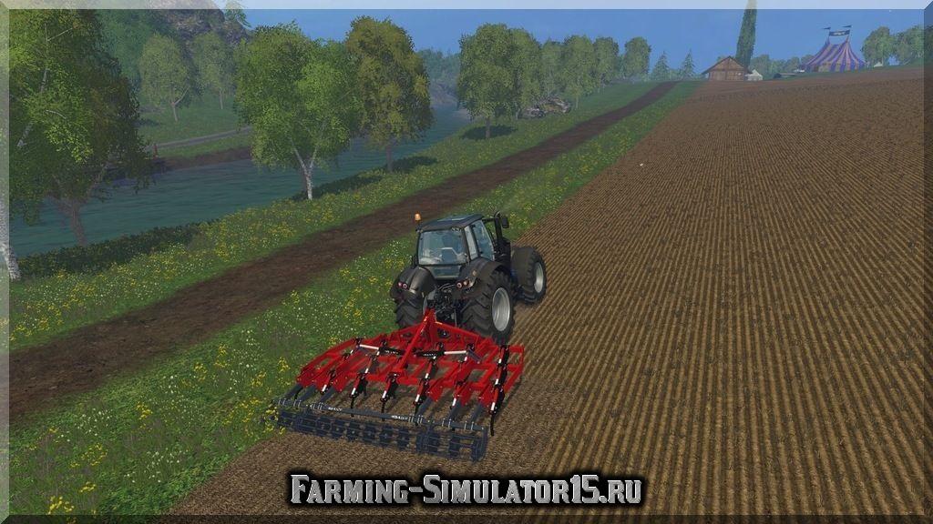 Мод культиватора Vila Chisel SXH 3 19 PH v 1.0 Farming Simulator 15, 2015