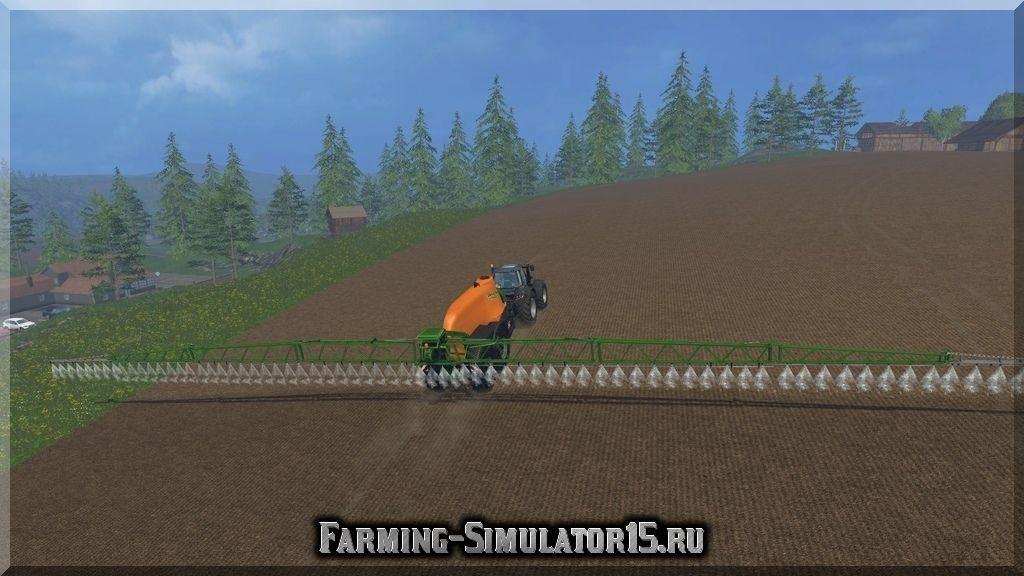 Мод опрыскивателя Amazone UX 11200 v 1.0 Farming Simulator 15, 2015