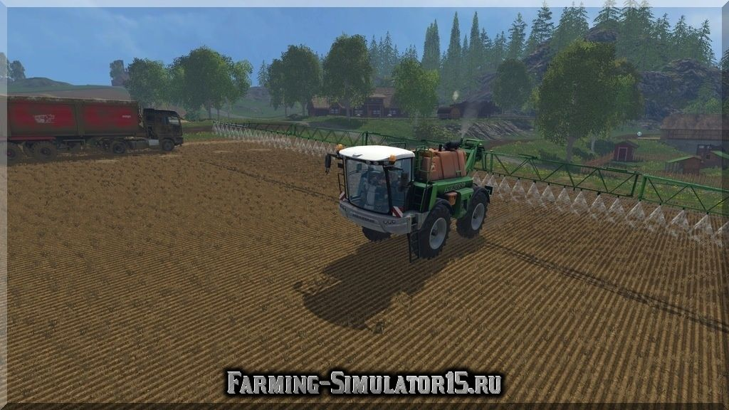 Мод опрыскивателя Amazone Pantera v 1.0 Farming Simulator 15, 2015