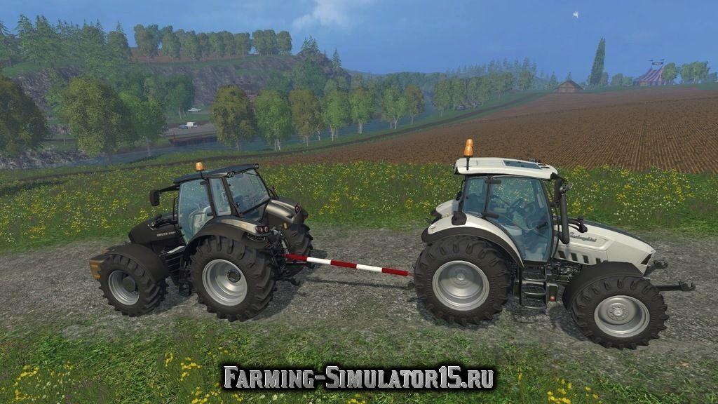 Мод жесткая сцепка Tow bar v 1.0 Farming Simulator 15, 2015