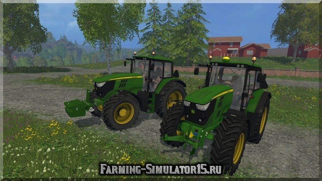 Мод ПАК трактора John Deere 6150M Pack v 1.0 Farming Simulator 2015, 15