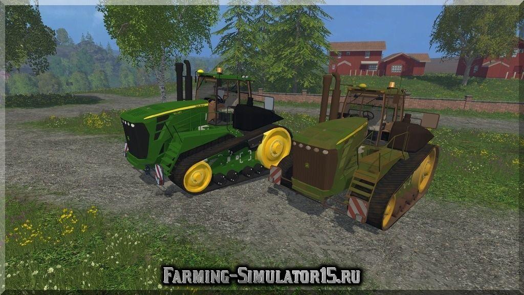 Мод трактора John Deere 9630T v 1.0 Farming Simulator 15, 2015