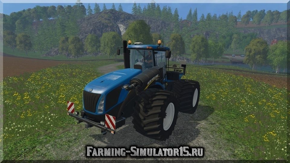 New Holland T9560 Changing Tires v 1.1