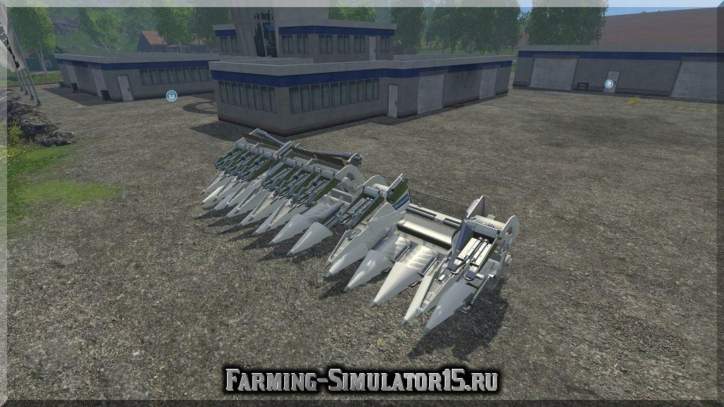 Мод жатки New Holland Maize Cutter v1.0 Farming Simulator 2015, 15