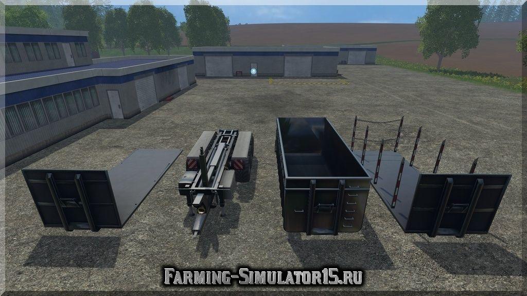 Мод ПАК прицепа Agroliner HKL Pack v 2.0 Farming Simulator 2015, 15