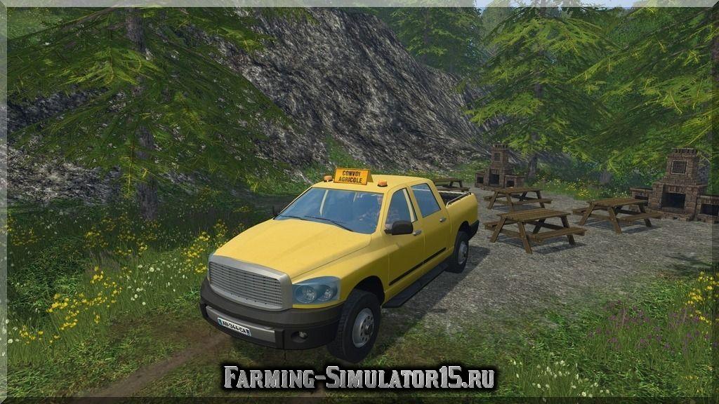 Мод автомобиля PickUp Gaec Les Muguets v 1.0 Farming Simulator 2015, 15