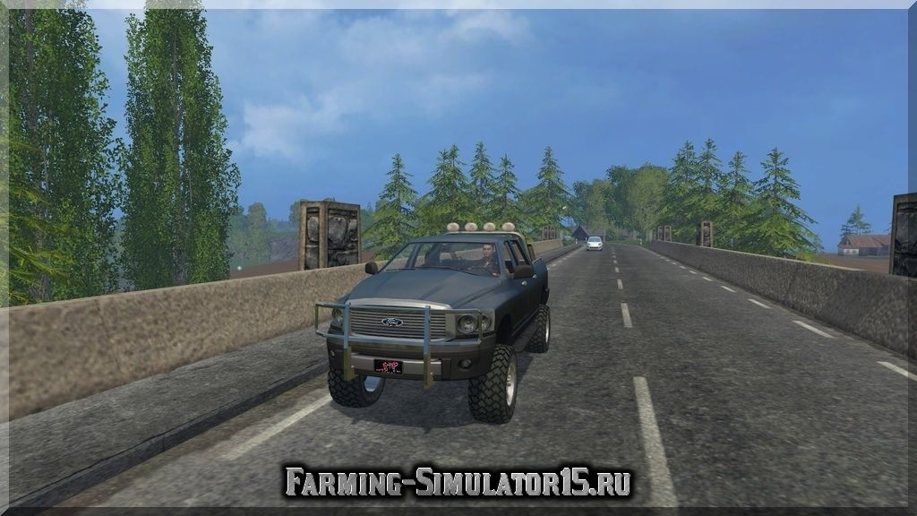 Мод автомобиля Ford Pickup Heavy Duty v 1.0 Farming Simulator 2015, 15