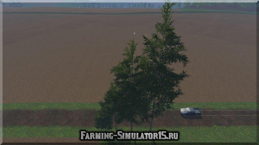 Мод перемещаемые деревья Forest Trees v 1.0 Placeable Farming Simulator 15, 2015